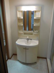 洗面台-上池台マンション403-