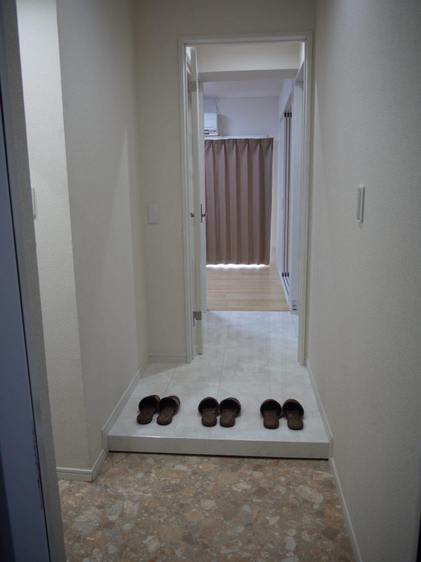 玄関-上池台マンション403-